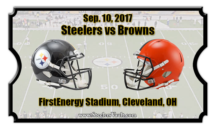 2017 Steelers Vs Browns