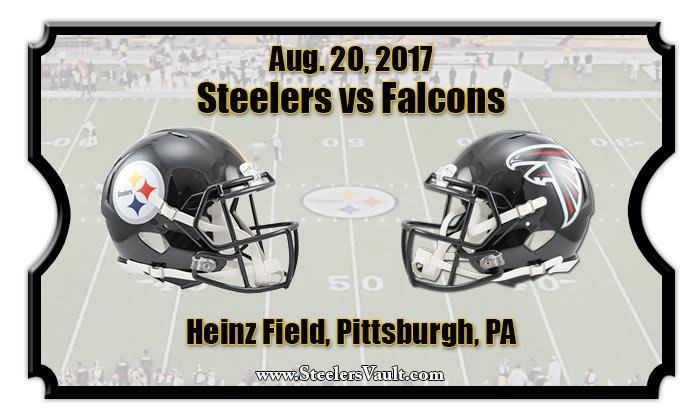 Image result for steelers vs falcons 2017 preseason
