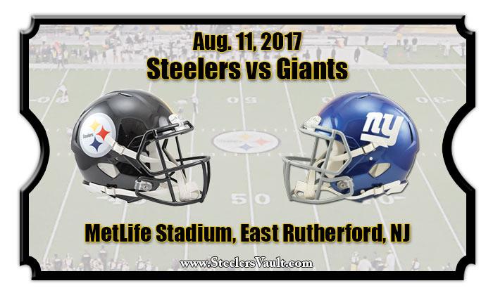 Image result for steelers vs giants preseason